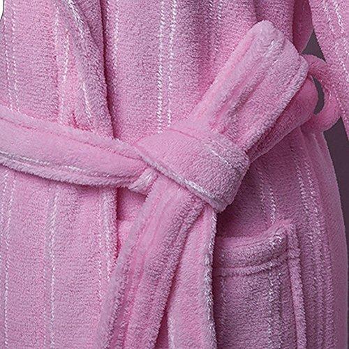 CHUNHUA L'automne et l'hiver Loi (fibre de polyester) Les pyjamas brossés service à domicile robe peignoir (couleur en option) , e , one size b