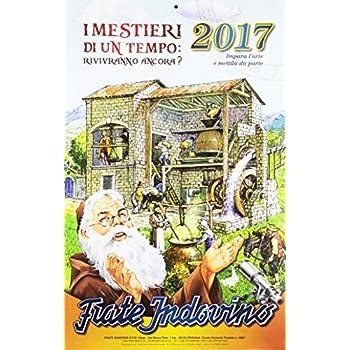 Calendario Frate Indovino 2017. Mestieri Di Un Tempo