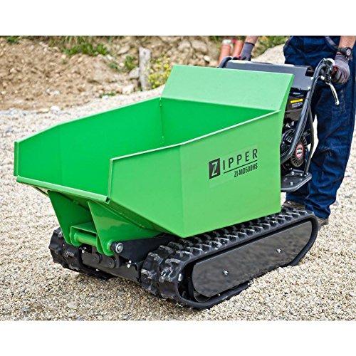 Miniraupendumper 6,8 kW / Ladekapazität 500 kg / Kippfunktion / mit Schneeschild -