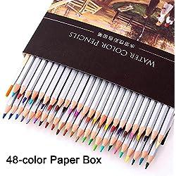 Lápices de colores acuarelables Juego wasserver veces Bar Niños con 24colores brillantes para niños Regalos obsequios para Fiesta Cumpleaños