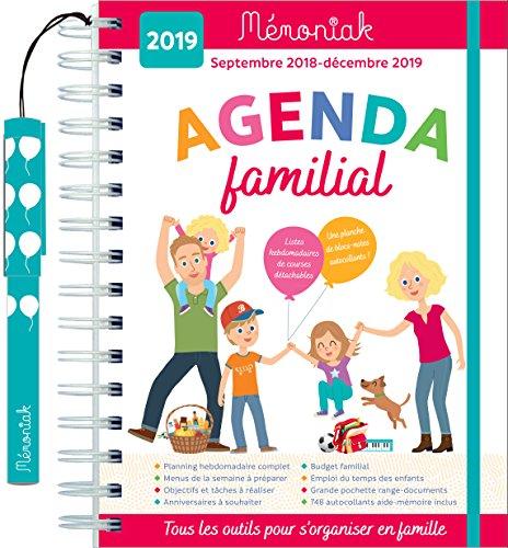 Agenda familial Mémoniak 2018-2019 par Collectif