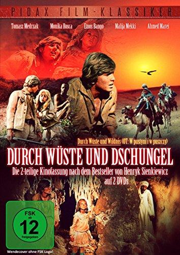 Durch Wüste und Wildnis - 2-teilige Kinofassung (2 DVDs)