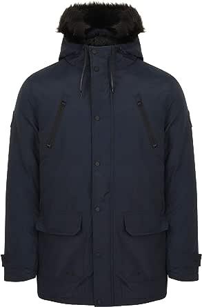 Tokyo Laundry Men's Lenart Faux Fur Trimmed Hooded Parka Coat