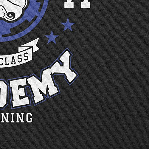 TEXLAB - Stormtrooper Academy - Herren Langarm T-Shirt Schwarz