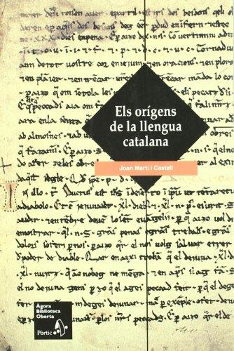 Els orígens de la llengua catalana (Àgora Biblioteca Oberta)