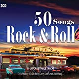 2CD 50 Songs Rock & Roll, Elvis Presley,Pete Johnson, Chuck Berry, Ray Charles, Rock Roll Music -