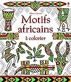 Motifs africains à colorier...