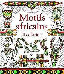 Motifs africains à colorier