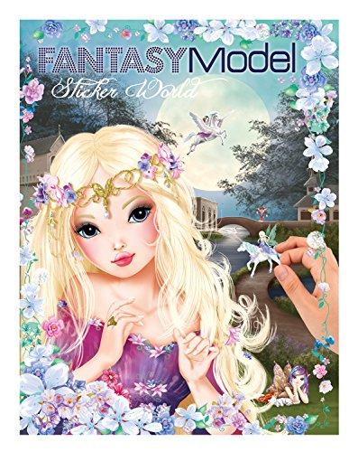 Preisvergleich Produktbild Top Model 8062 Buch mit Stickern