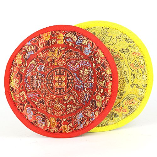 Sharplace Pad für Klangschale mit diversen traditionellen Mustern - 16cm -