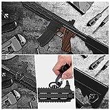 OTraki QD sling mount Rifle Swivels Mount 1.25 Loop Heavy Duty Push Button QD keymod sling mount Adapter Quick Detach/Release for Picatinny/Weaver Airsoft Mounting Base Rail