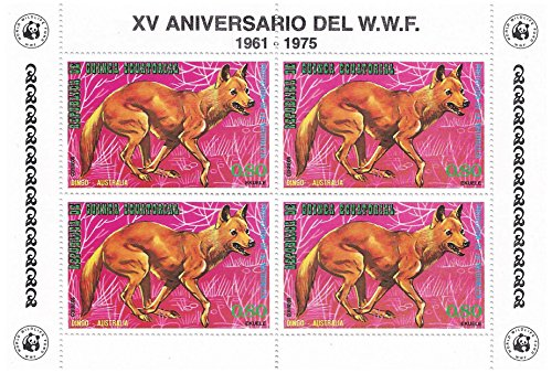 world-wildlife-fund-15th-anniversary-foglio-di-francobolli-per-collezionisti-the-dingo-blocco-di-qua