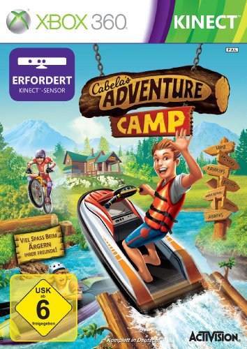 Cabela's Adventure Camp (Kinect) - [Xbox 360]