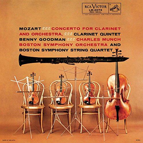 Clarinet Concerto KV 622 & Clarinet Quintet