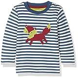 Kite Foxy T-Shirt, Maglietta a Manica Lunga Bimba, Blue (Navy), 2 mesi