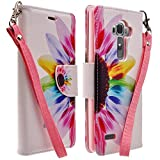 LG G4 Case, Deluxe Pu Leather Folio Wall...