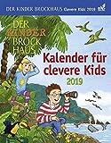 Der Kinder Brockhaus Kalender für clevere Kids - Kalender 2019 - Achim Ahlgrimm, Thomas Huhnold, Christine Kleicke