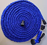 #4: Kihika Hot 175FT Magic Expandable Garden Water Hose Green Flexible Watering Hose Pipe With 7 Modes Spray for Watering & Irrigation