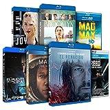 Pack Oscars 2016: El Renacido + Creed + Marte + El Puente De Los Espías + Brooklyn + Mad Max: Furia En La Carretera + Joy [Blu-ray]