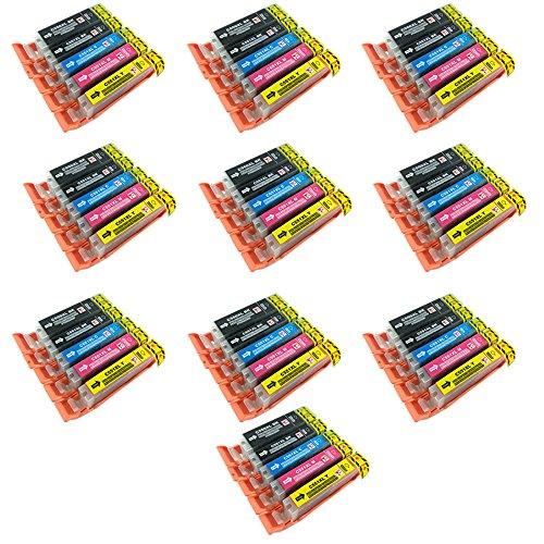 Galleria fotografica Perfectprint cartuccia di ricambio per Canon IP7250MG5450MG5550MG6350MG6450MG7150MX925MX725IP7250MG5450MG5550MG6350IP7250MG5450(nero/nero/ciano/magenta/giallo,  pezzi)