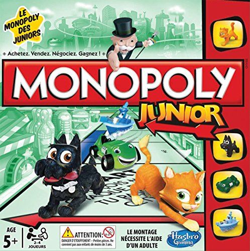 Hasbro A69841010 -  Brettspiel Monopoly Junior (Französisch) (Monopoly Electronic)