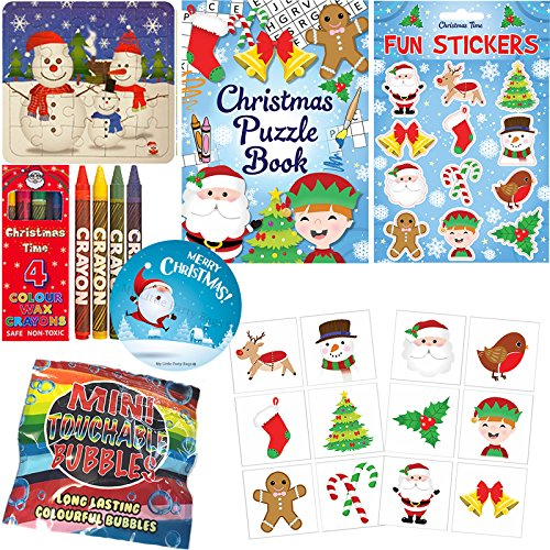 Boys Girls Christmas Stocking Fillers Xmas Gifts Activity Packs Toys