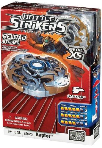 Mega Bloks Magnext Battle Strikers Strikers XS Métal - Raptor [Jouet]