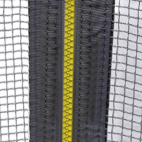 Ultrasport Sicherheitsnetz für Gartentrampolin Ultrasport Jumper Wave in Grün, 366 cm -