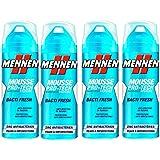 Mennen - Mousse à Raser Homme Bacti Fresh - 250 ml - Lot de 4