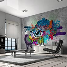 papier peint graffiti. Black Bedroom Furniture Sets. Home Design Ideas
