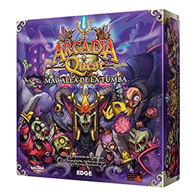 Arcadia Quest – Au-delà de la Tombe, Set de Table (Edge Entertainment Aq02)