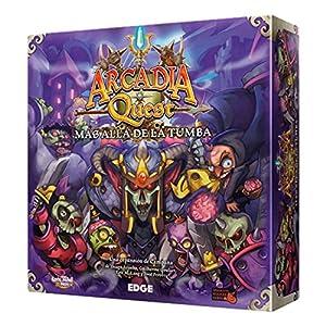 Edge Entertainment Arcadia Quest - Más allá de la Tumba, Juego de Mesa AQ02