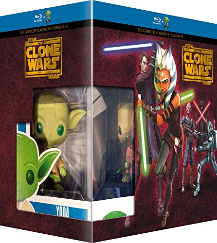 Fr-box (Coffret star wars clone wars [Blu-ray] [FR Import])