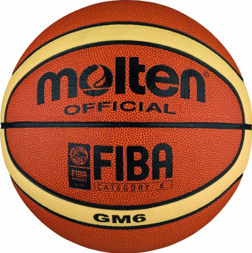 Molten BGM6 Ballon de basket-ball Orange/crème