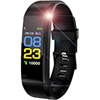 SHOPTOSHOP ID11501 Bluetooth Smart Fitness Band Watch for Men/Women with Heart Rate Activity Tracker Waterproof Body