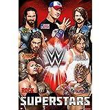 Grupo Erik GPE5066 Poster Wwe Superstars, carta, Multicolore, 91 x 61,5 x 0,1 cm
