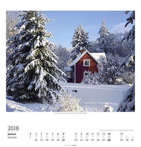 Schweden - Kalender 2018: Alle Infos bei Amazon