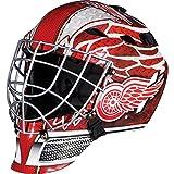 Franklin Sports Eishockey-Sammelartikel Torwart-Helm Mini, Design: Logo Einer NHL-Mannschaft, Unisex, 7784F21, rot, Einheitsgröße