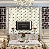 Berrose 3D Vintage Leder Texturierte Tapete PVC Wandbild Realistisch Look wasserdicht Simulation TV-Wand Tapete-TV Wandtapete Aufkleber Selbstklebender Ausgangsdekor des Wand Strukturierte