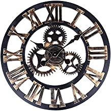 Horloge industriel for Pendule murale industrielle