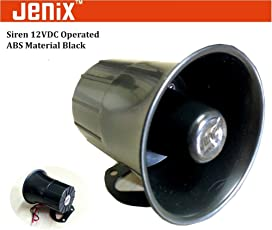 Jenix High Audible Siren Systems 110dB for fire Alarm, Security System,Ambulance