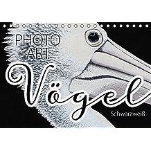 Vögel Schwarzweiß Photo Art (Tischkalender 2018 DIN A5 quer): Vogelportraits stimmungsvoll umgesetzt in Schwarzweiß (Monatskalender, 14 Seiten ) ... [Kalender] [Apr 16, 2017] Sachers, Susanne