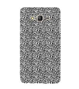 EPICCASE black clip ons Mobile Back Case Cover For Samsung Galaxy E5 (Designer Case)