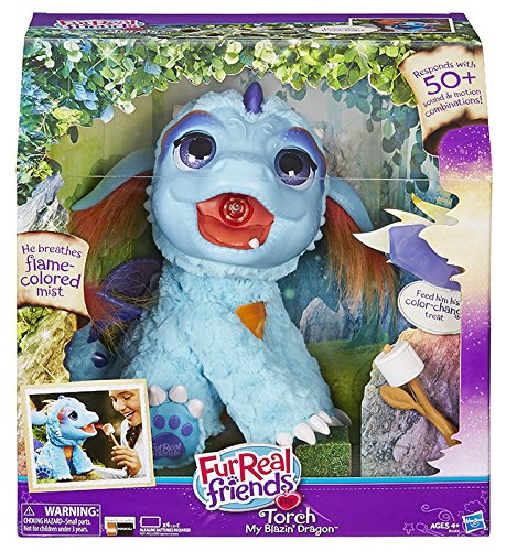 Hasbro FurReal Fur Real Friends Torch Dragon Plush Toy Interactive Dragon