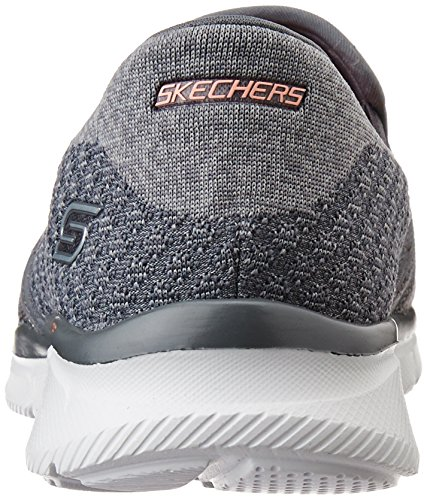 Skechers Damen Equalizer Say Something Sneakers Grau (Char)