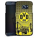 DeinDesign Samsung Galaxy S6 Edge Hülle Case Handyhülle BVB Muster Borussia Dortmund