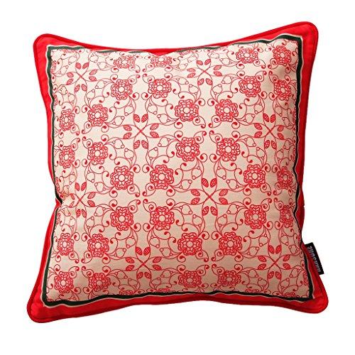 uus Red cuscino del divano con fiore