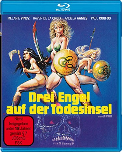 3 Engel auf der Todesinsel [Blu-ray] [Limited Edition]