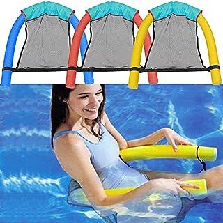 GEZICHTA Pool Floating Stuhl, Schwimmen Freizeit Stick Bett, weich Noodle Schwimmen Sitze, Wasser Schwimmhilfe Float für Erwachsene Kinder