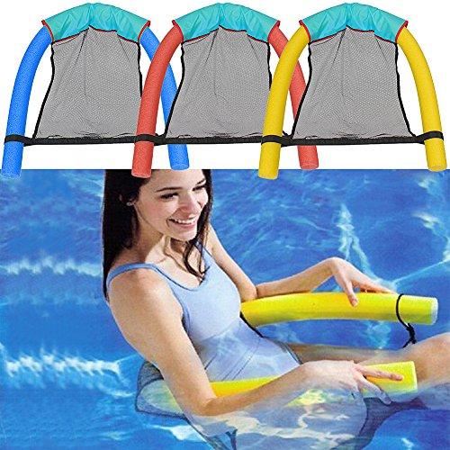 GEZICHTA Silla flotante para piscina, barra de ocio para natación, sillas de natación suave para niños adultos